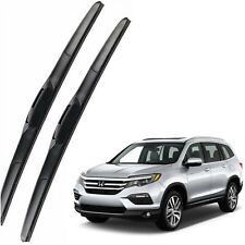 Genuine OEM Front Windshield Wiper Blades For 2016-2020 Honda Pilot Full Series