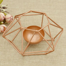 Geometric Tea Light Taper Candle Holder Candlestick Candlestand Wedding Party