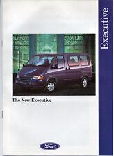 FORD TRANSIT EXECUTIVE PEOPLE CARRIER VAN BROCHURE 2500 DIESEL 1992