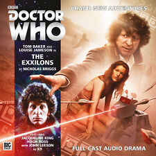 DOCTOR WHO Big Finish Audio CD Tom Baker 4th Doctor #4.1 THE EXXILONS