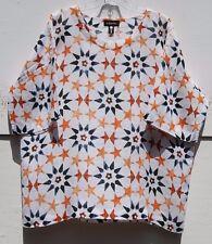 Eskandar Bergdorf Goodman PENTAGON STAR MOGHUL TILE DESIGN Linen Tunic (1) $795