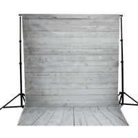 1X1.5M Fotohintergrund Hintergrund Foto Studio Weiß Holzboden Brett Planke Neu