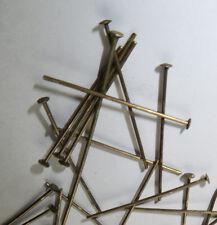 "100Pcs  Antique 1"" Bronze straight pin part to connect Prism Lamp Chandelier"
