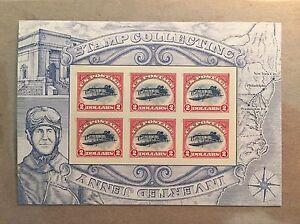 Inverted Jenny plane 6 stamps with Missing Broken Frames 2 dollars