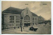 1910s Germany Bielefeld ,railway station ,rare postcard