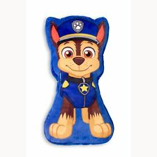 PAW PATROL PEEK CHASE SHAPED CUSHION BLUE KIDS BOYS BEDROOM