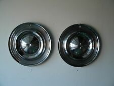 """62-14""""- 1957 0lds hubcaps no dings/dents nice"""