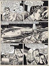 BOB LEGUAY VACANCES MAL COMMENCEES PLANCHE TIM L'AUDACE ANNEES 1950 PAGE 2