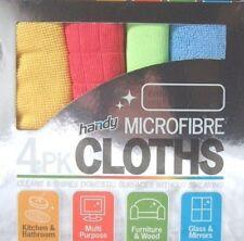 SET OF 8 MICROFIBRE MICRO FIBRE CLEANING CLOTHS