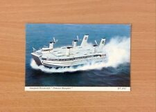 1970 Postcard - Seaspeed Hovercraft Princess Margaret - ET 5637