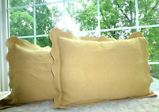 J.C Penney Home Floral Columbine Cody Matelasse Scalloped Standard Pillow Sham