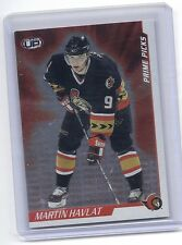 01-02 2001-02 PACIFIC HEADS UP MARTIN HAVLAT PRIME PICKS 5 OTTAWA SENATORS