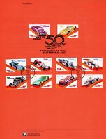 USPS #5321-30 Hot Wheels Souvenir Page 1831 Commemorative Cancellation Stamp FDC
