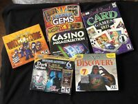 LOT OF 6  PC GAMES (WITH A VALUE OF $70)