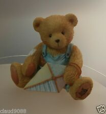 "CHERISHED TEDDIE ""MARK - MARCH BEAR   "" 914770  MINT IN BOX"