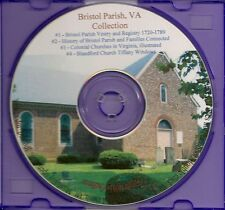 Bristol Parish, VA  Collection+ Tiffany Stained Glass - Genealogy and History