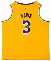 ANTHONY DAVIS Autographed Los Angeles Lakers Nike Icon Edition Jersey UDA