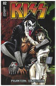 KISS Phantom Obsession #2 2021 Unread Tim Seeley Variant Cover C Dynamite Comic