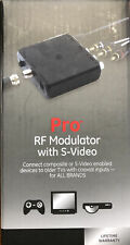 New listing Ge Pro Series Rf Modulator with S-Video, 38806
