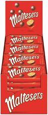 MALTESERS Chocolate Malt Balls 25x37g bags in Big Box 925g New and Fresh