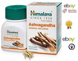 2x Immunity Himalaya Ashwagandha Stress Relief & Boost Energy Level 60 Tablets
