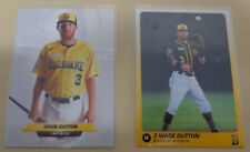 2018/19 Wade Dutton Baseball Cards - Brisbane Bandits Australian Baseball League