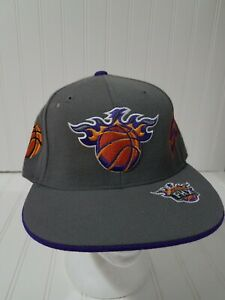 Phoenix Suns Fitted Cap Size 7 1/4 Reebok NBA Elements Basketball Hat