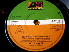 "BETTE MIDLER-Big Noise From Winnetka 7"" vinyle"