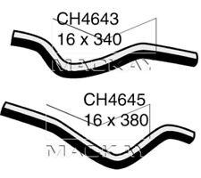 Mackay Heater Hose Set for MITSUBISHI LANCER 2007~2016 2.0 litre
