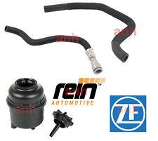 BMW E46 NEW OEM Power Steering Kit (Reservoir,Pressure & Return Hose)
