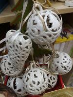 Palla di Natale in porcellana decorazione per albero natalizio Christmas