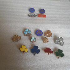 More details for vgc 15 vintage girl guide scout metal enamel pin badges bundle job lot bp queen