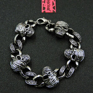 Betsey Johnson Fashion Jewelry Unique Skull Metal Bangle Bracelet