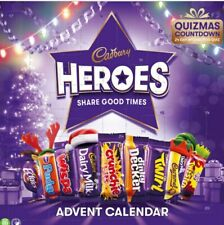 HEROES ADVENT - TURE CALENDER CADBURY CHRISTMAS STOCKING FILLER CHOCOLATE XMAS