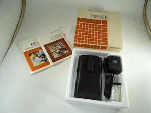 Vtg Hewlett Packard HP-32E Scientific Calculator w/ Box Adapter Working Retro