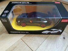 Radio Remote Control Car 1/24 Scale Porsche GT3 RS RC RTR Black by RASTAR boxed