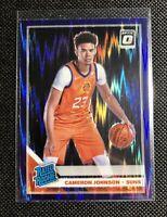 2019-20 Donruss Optic Cameron Johnson RC Rated Rookie Purple Shock Prizm Suns