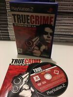 ❤️ Jeu Playstation 2 Ps2 Pal Fr True Crime Streets Of LA