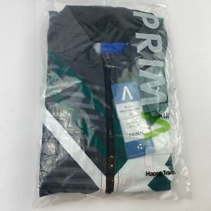 Primal Happy Trails Full Zip Cycling Jersey Jacket Green Size M Black NWT Baker