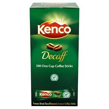Kenco Decaff 200 Stick Sachets  Free UK Delivery