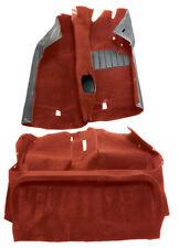Carpet set in Red, Mk2 Golf 84-92, RHD - 192863101RED