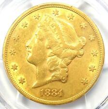 1884-CC Liberty Gold Double Eagle $20 - PCGS AU Details - Rare Carson City Coin!