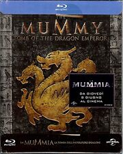 The Mummy Tomb of the Dragon Emperor Limited Edition SteelBook Region Free Italy
