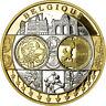 [#718424] Belgien, Medaille, Euro, Europa, Politics, Society, War, STGL, Silber