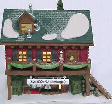 "Heritage Village Collection ""Santa's Woodworks"" ~ #5628-6"