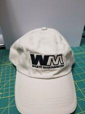 Waste Management WM Khaki Hat Mens OS Adjustable NEW!