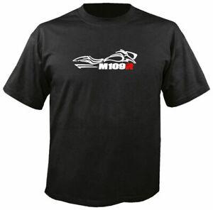 M109R SILHOUETTE BLACK T-SHIRT, S-3X, boulevard suzuki motorcycle boss