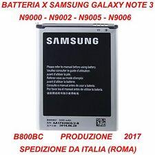 BATTERIA SAMSUNG NOTE 3 N9000 N9002 N9005 N9006 B800BC EB-B800BE B800BE