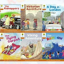 Oxford Reading Tree, Level 8: Stories, 6 Books Collection Set (The Kidnappers)