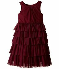 Burberry Kid's Anjie Tulle Elderberry   sleeveless dress Big kid's size 12 yrs